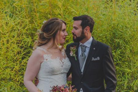 """""""Encantada con las fotos de mi boda"""""""